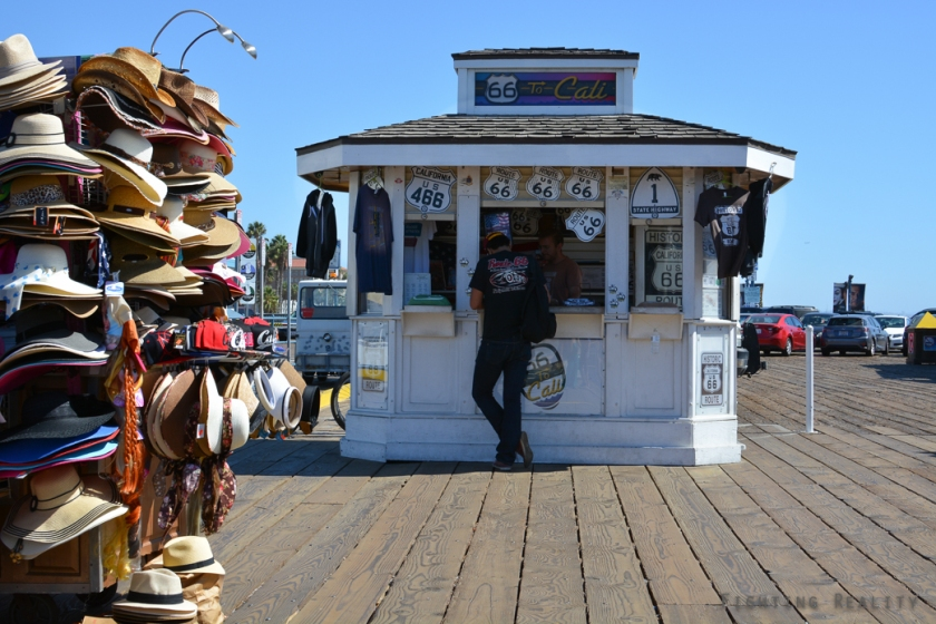 Photo by Marivic Pinedo Photography, Fighting Reality, Santa Monica, pier, California