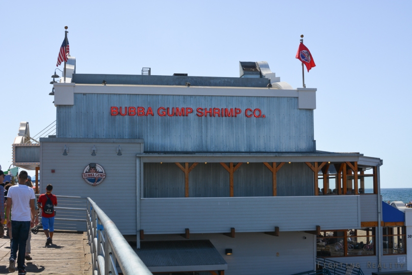 Bubba Gump Shrimp Co, Santa Monica, Photo by Marivic Pinedo Photography, Fighting Reality